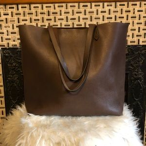 Madewell Large Brown Transport Tote